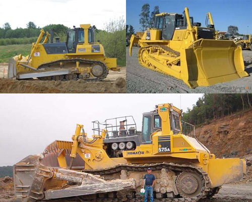 Product picture Komatsu D31EX Dozer Operation & Maintenance Manual